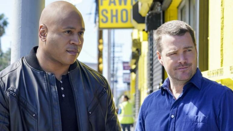 LL COOL J And O'Donnell NCIS LA
