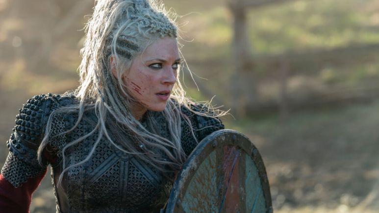 Katheryn Winnick stars as Lagertha in History Channel's Vikings