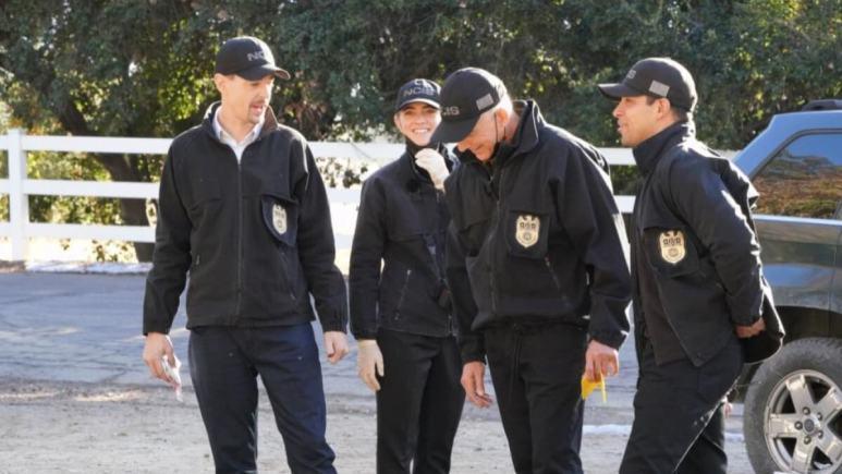 NCIS Cast Smiles
