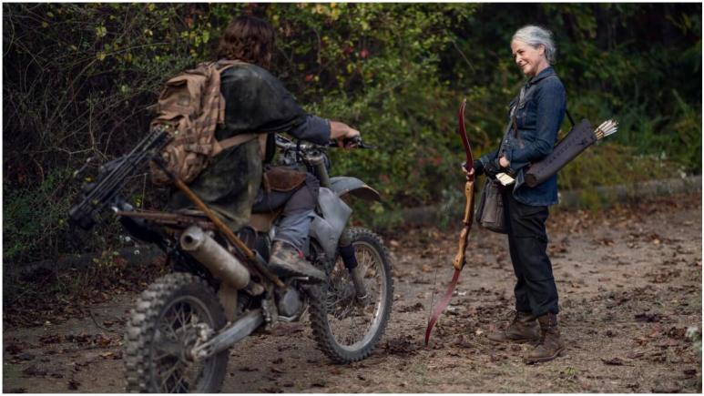 Daryl Dixon and Carol Peletier feature in Season 10C of The Walking Dead