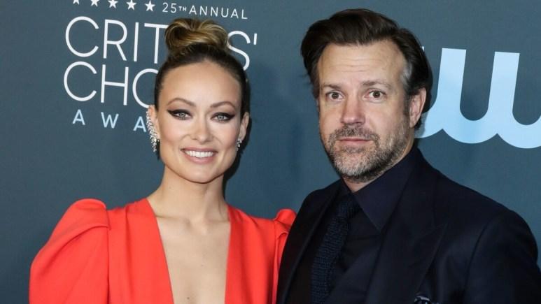 Olivia Wilde and Jason Sudeikis.