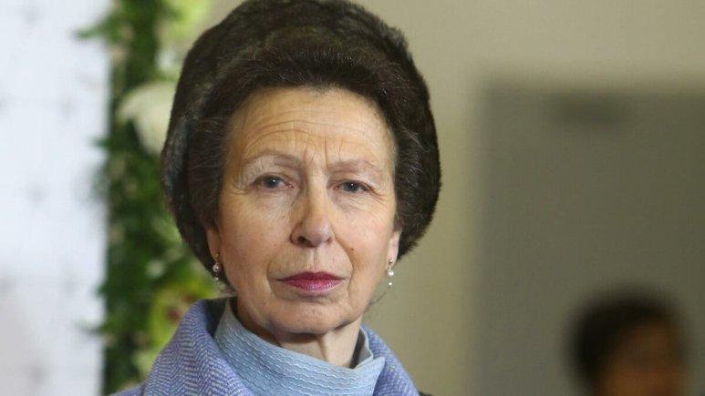 Princess Anne attends a public function