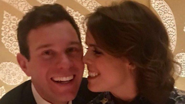 Princess Eugenie and husband Jack Brooksbank