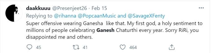 Rihanna Ganesh Twitter outrage