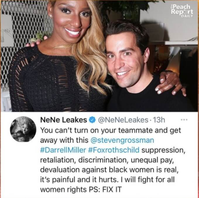 NeNe Leakes calls out her team on Twitter
