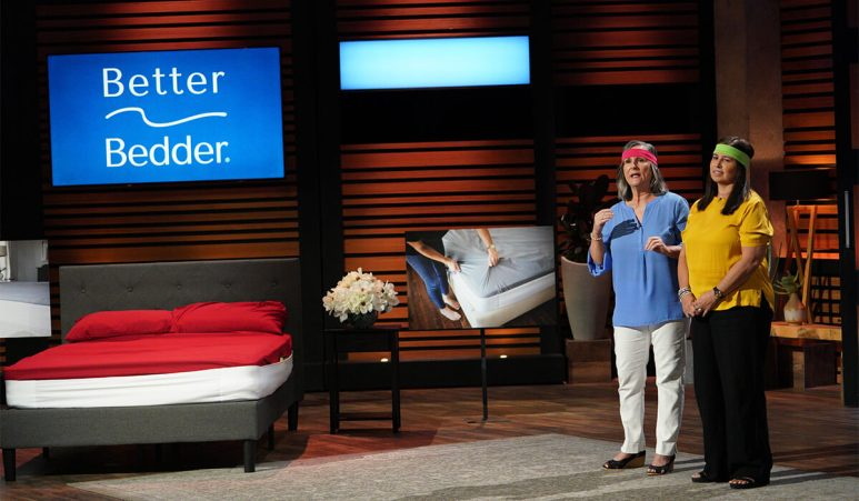 Better Bedder on Shark Tank.