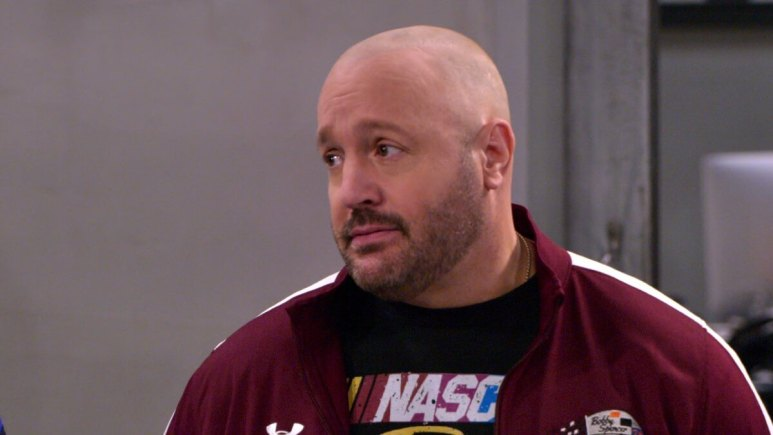 Promotional still of Kevin James in The Crew.