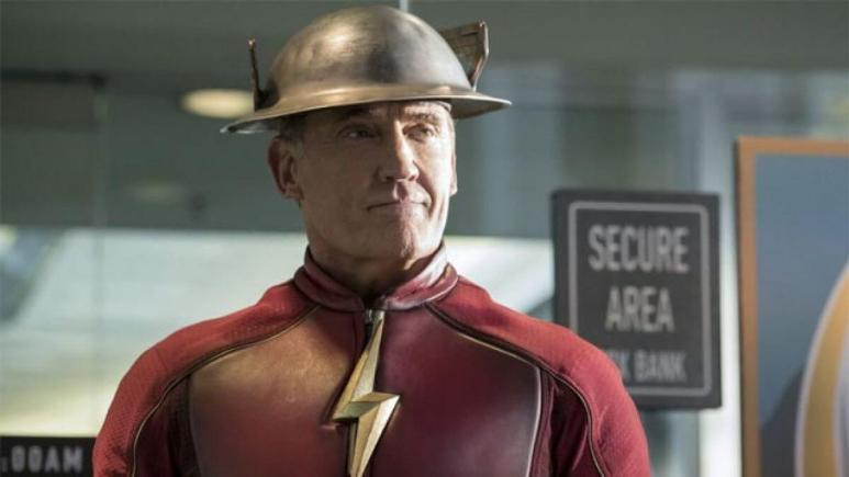 John Wesley Shipp as the Jay Garrick Flash