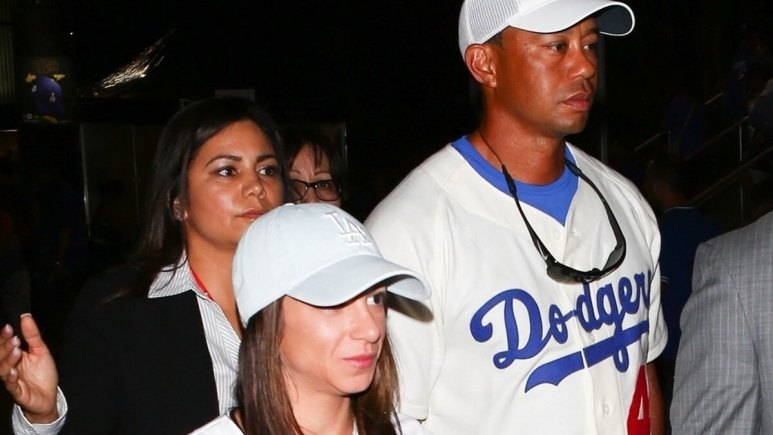 Tiger Woods and girlfriend Erica Herman