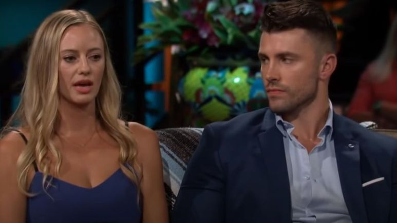Kamil Nicalek breaks up with Annaliese Puccini on the Bachelor in Paradise reunion show