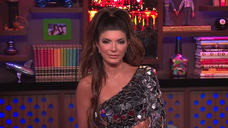 Teresa Giudice denies making up rumor about her castmate's husband for a storyline