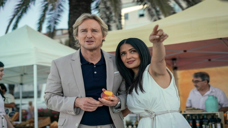 Exclusive Interview: Director Mike Cahill on how Salma Hayek and Owen Wilson create Bliss from his big ideas