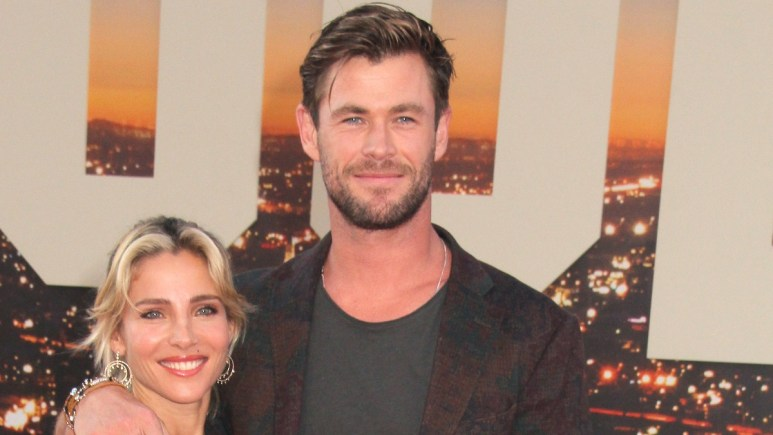 Chris Hemsworth and Elsa Pataky