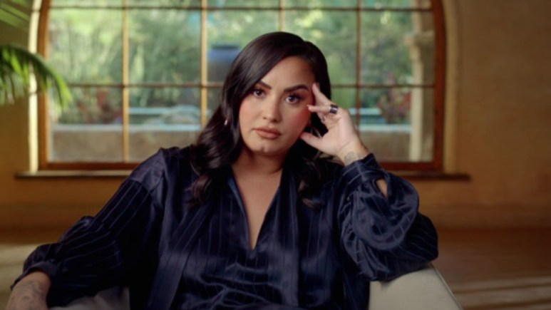 Demi Lovato in the trailer for her new documentary Dancing With the Devil.