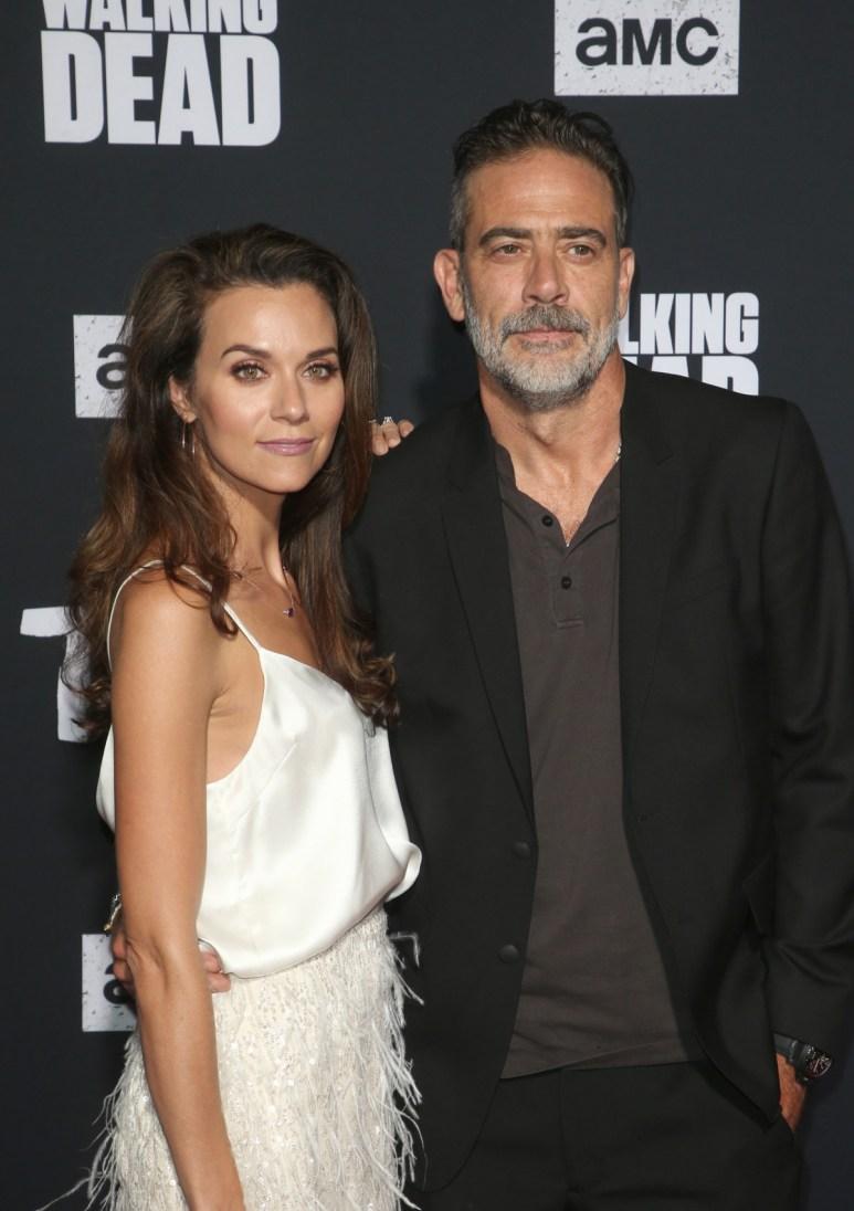 Hilarie Burton, Jeffrey Dean Morgan. The Walking Dead Season 10 Special Screening held at TCL Chinese Theatre