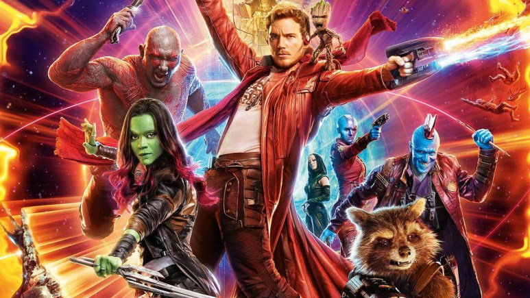 James Gunn teases new DC project Guardians Of The Galaxy poster.