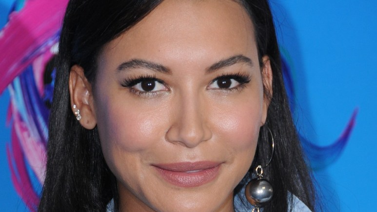 Image of Naya Rivera at a press event.