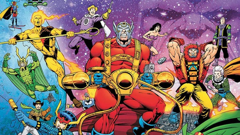 New Gods in Zack Snyder's Justice League Comics.