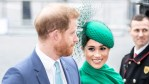Prince Harry and Meghan Markle attend a royal event
