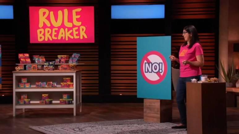 Rulebreaker Snacks will be featured on Shark Tank.