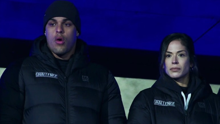 josh martinez and nany gonzalez on the challenge double agents episode 11