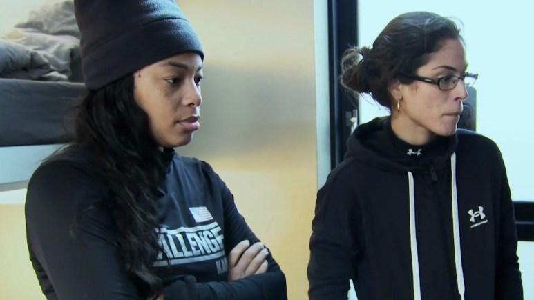 kam williams nany gonzalez in double agents episode 9