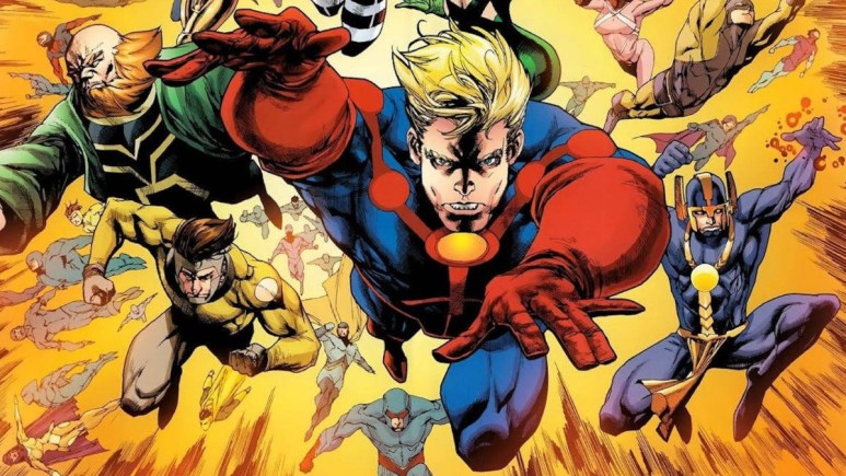The Revenant inspired The Eternals comic book.