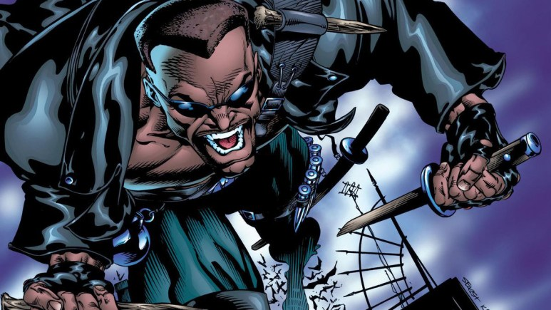 Wesley Snipes in Blade reboot Comics.