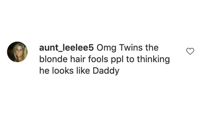 Screenshot of comment on Paola's post.