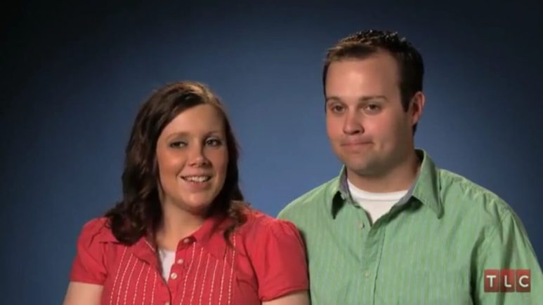Anna and Josh Duggar on 19 Kids and Counting.