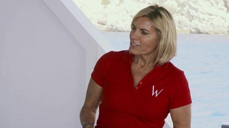 Captain Sandy Yawn from Below Deck Mediterranean speaks out on crew sleeping in guest cabins.