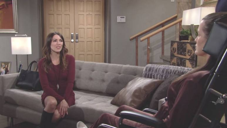 The Young and the Restless spoilers tease Chelsea is saved by Chloe.