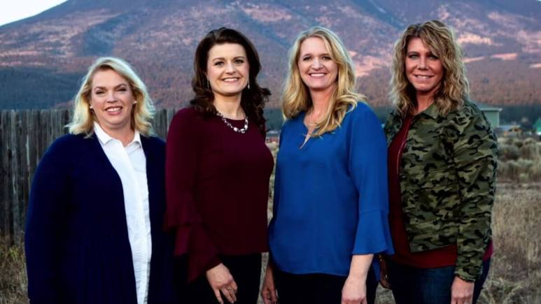 Janelle, Robyn, Christine, and Meri Brown of Sister Wives