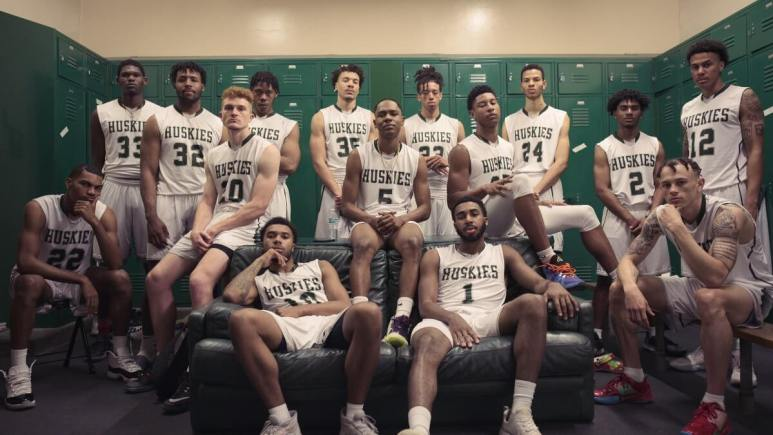 Promotional still from Last Chance U: Basketball.