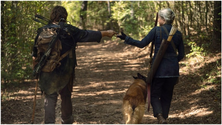 Download The Walking Dead spoilers: Carol and Daryl part ways