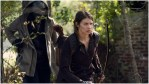 Okea Eme-Akwari as Elijah and Lauren Cohan as Maggie Rhee, as seen in Episode 17 of AMC's The Walking Dead Season 10C