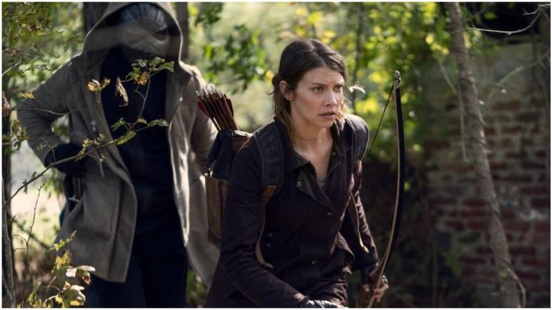 Okea Eme-Akwari as Elijah and Lauren Cohan as Maggie Rhee, as seen in Episode 17 of AMC's The Walking Dead Season 10C
