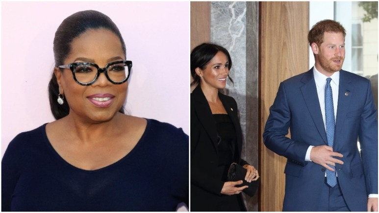 Oprah and Harry and Meghan