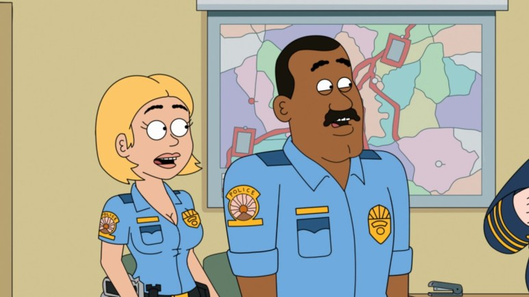 Promotional still from Paradise PD.