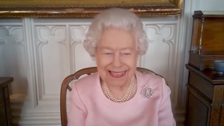 Queen Elizabeth video calls South Australia