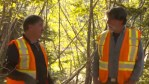 Rick Lagina and Dr. Ian Spooner on Oak Island