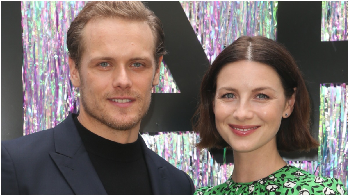 Sam Heughan and Caitriona Balfe share details of the upcoming Season 6 of Starz's Outlander