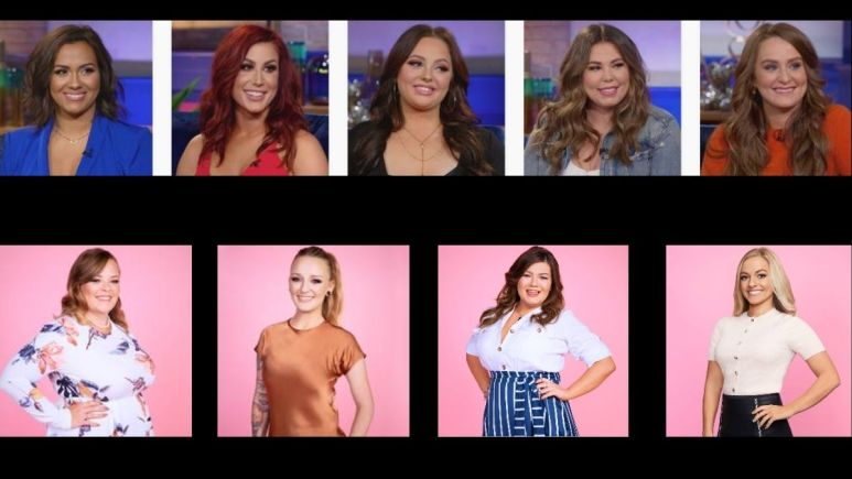 Casts of Teen Mom OG and Teen Mom 2 on MTV