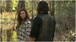 Lynn Collins as Leah and Norman Reedus as Daryl Dixon, as seen in Episode 18 of AMC's The Walking Dead Season 10C