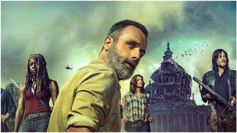 Key artwork for AMC's The Walking Dead