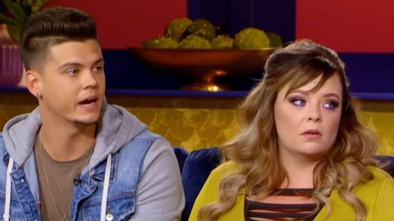 Tyler and Catelynn of Teen Mom
