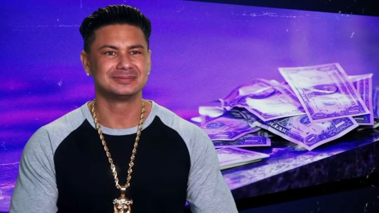 Pauly DelVecchio during an episode of Jersey Shore Family Vacation