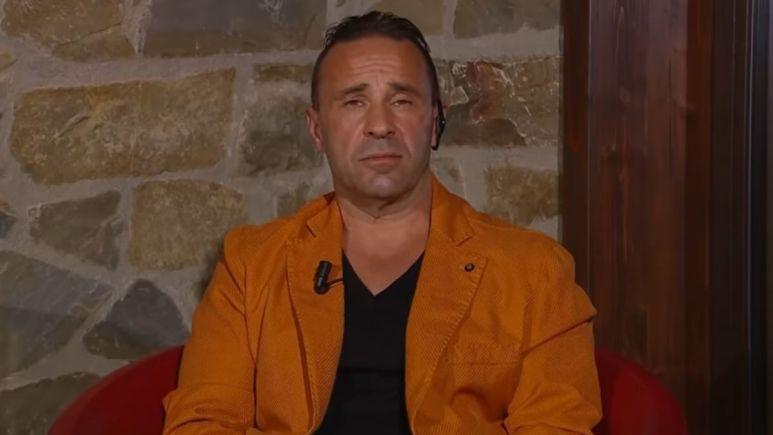Joe Giudice on an episode of WWHL