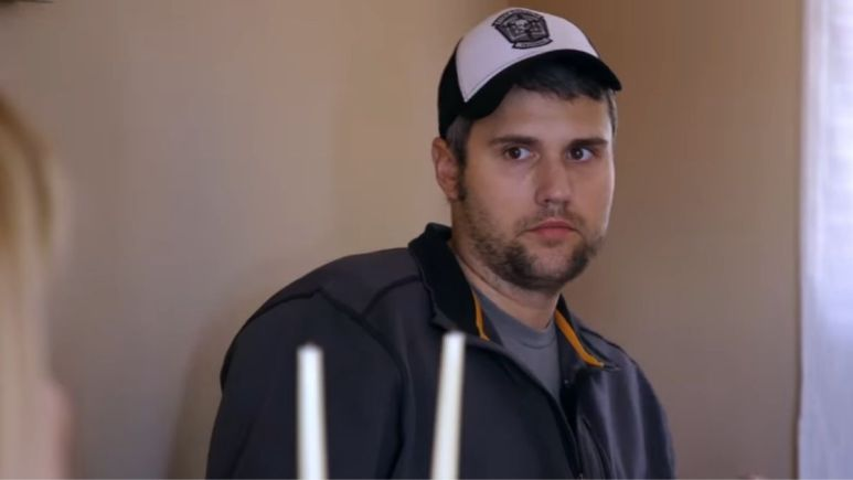 Ryan Edwards during an episode of Teen Mom OG