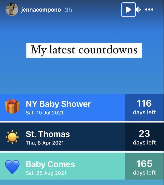 the challenge jenna compono countdown